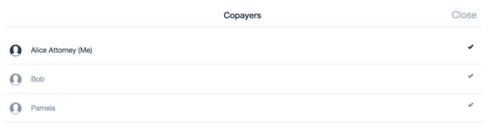 Copayers